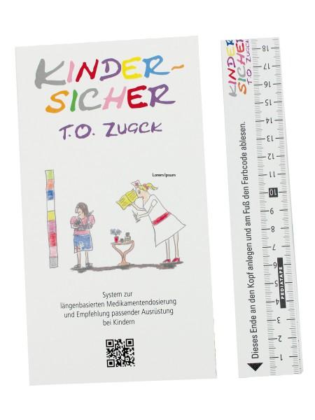 Pediatape Kindernotfallband mit Infoflip 333-601
