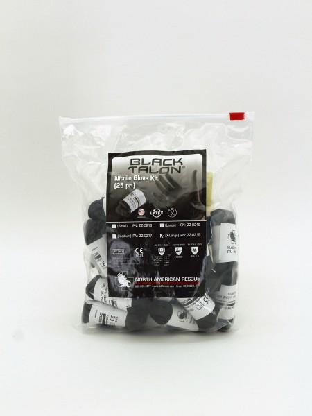 Black Talon Nitrilhandschuh-Kit 10-13-Größe