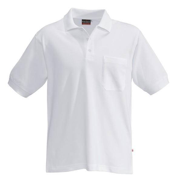 HAKRO Poloshirt Performance Herren weiß