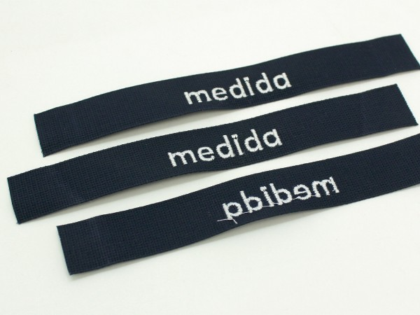 medida Namensband 1-zeilig 90-140