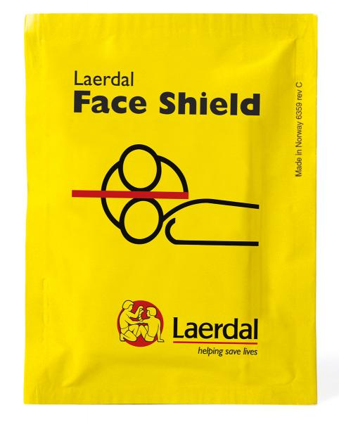 Laerdal Face Shield Notfallbeatmungstuch