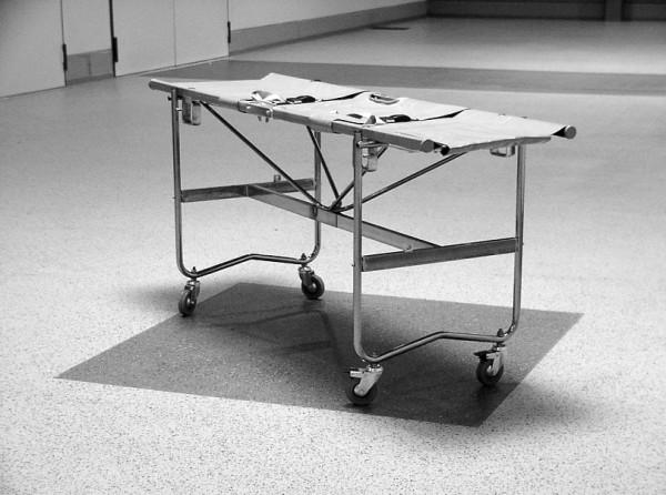 Krankentragen-Gestell mit Rollen 08-3006