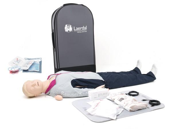 Laerdal Resusci Anne QCPR AED Ganzkörper-Puppe