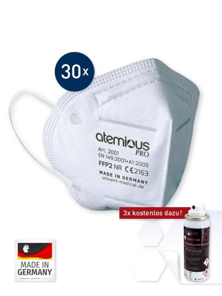 """medida Spezial """"30+3"""" FFP2 Masken & Desinfektion Spray"""