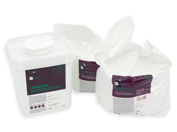 SunSept Wipes RSD 400 Big Max Desinfektionstücher inkl. Spendereimer