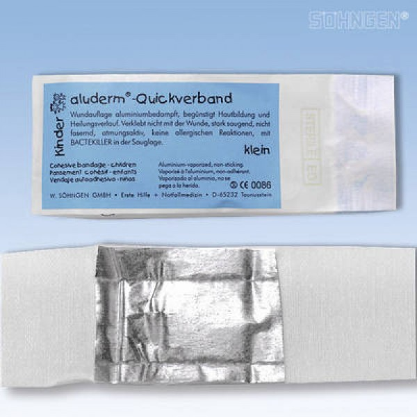 aluderm® Kinder Quickverband klein 40-35