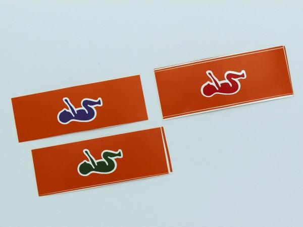 Symbol Aufkleber Baby/Kinder S60405