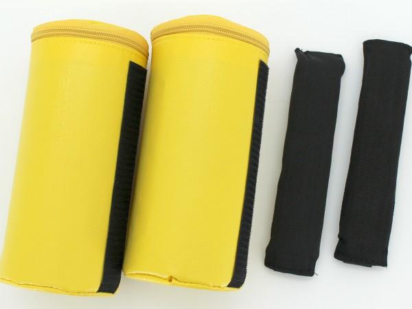 Kopffixierung, gelb