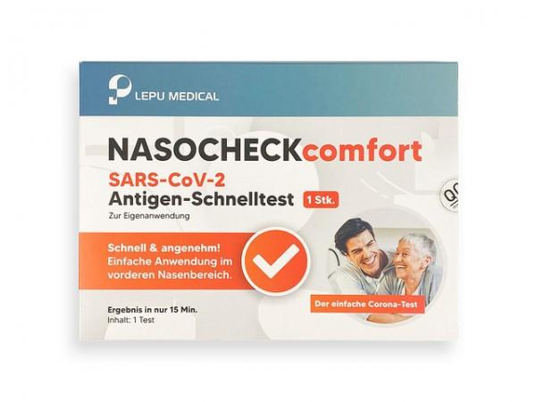 NASOCHECKcomfort SARS-CoV-2 Antigen-Schnelltest (Selbstanwendung)
