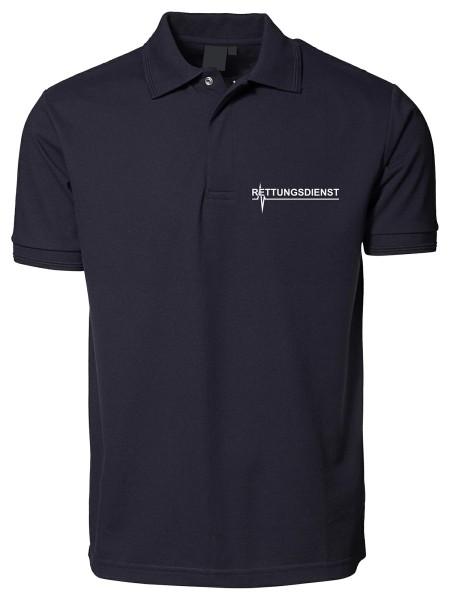 mrw Poloshirt blau