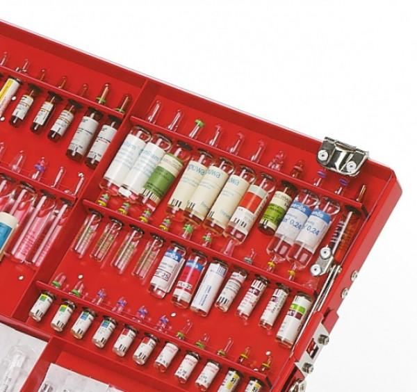 Ampullenleiste für Ulmer Koffer I