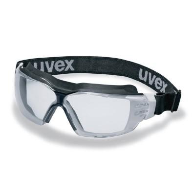 Vollsichtbrille uvex pheos cx2 sonic, weiß/schwarz