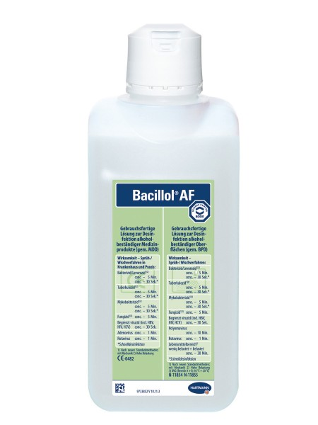 Hartmann Bacillol AF Schnelldesinfektion