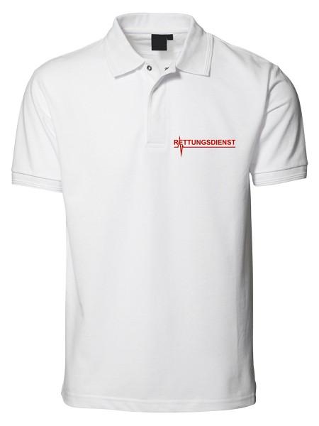 mrw Poloshirt weiß