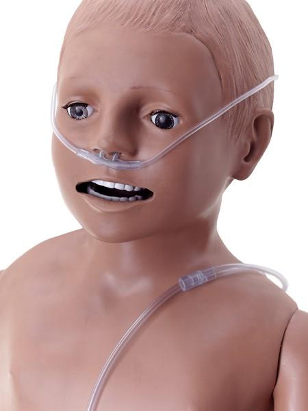 Sauerstoffbrille mit Trichteransatz Säuglinge