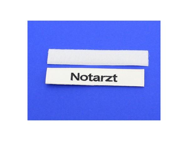 """Namensaufnäher """"Notarzt"""", klein SM-006"""