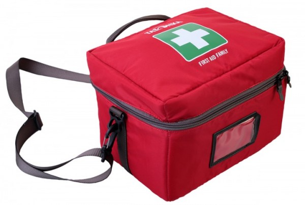 Tatonka First Aid Family rot, 25x18x18cm