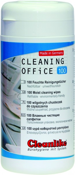CLEANING OFFICE Spenderdose für Reinigungstücher