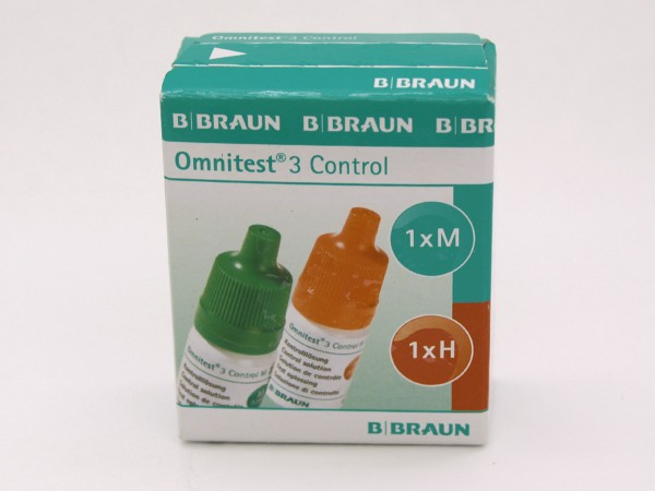 B. Braun Omnitest 3 Kontrolllösung 30-305