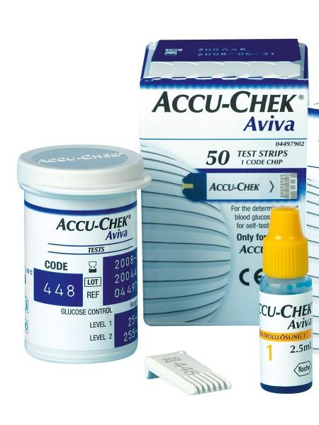 Accu-Chek Aviva Sensoren Blutzucker-Teststreifen 30-541
