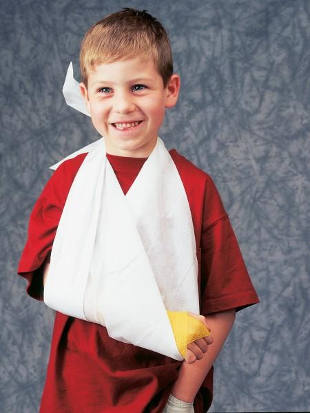 WS Kinder Fixierbinde elastisch