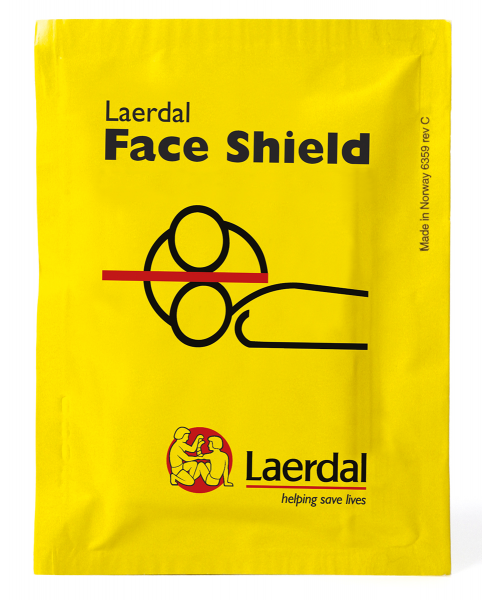 Laerdal Face Shield Notfallbeatmungstuch
