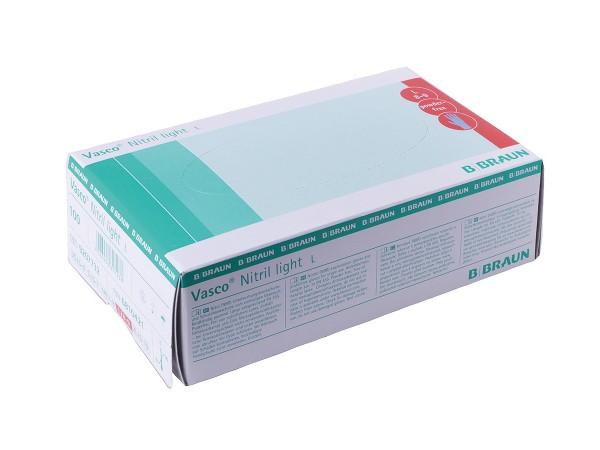 Braun Vasco® Nitril light, Lavendelblau 10-51-Größe