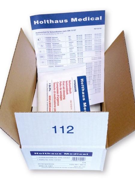 medida DIN 13157-C Steril-Austauschset 54-110